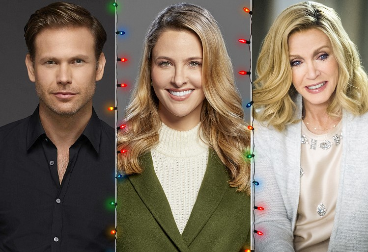 Christmas Wishes & Mistletoe Kisses (2019) Cast