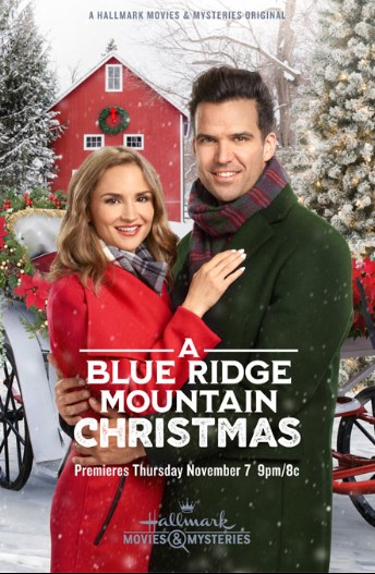 A Blue Ridge Mountain Christmas (2019) Poster