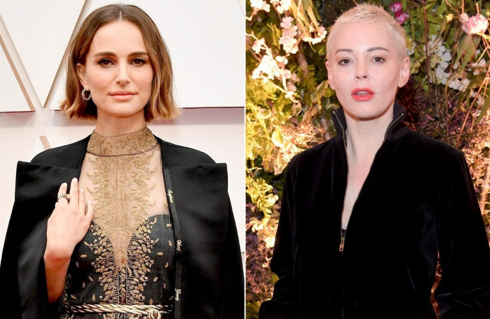 Rose McGowan Slams Natalie Portman's Female-Director Oscars Cape