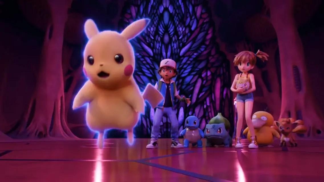 Pokemon Mewtwo Strikes Back Evolution 2020 Cast Release Date
