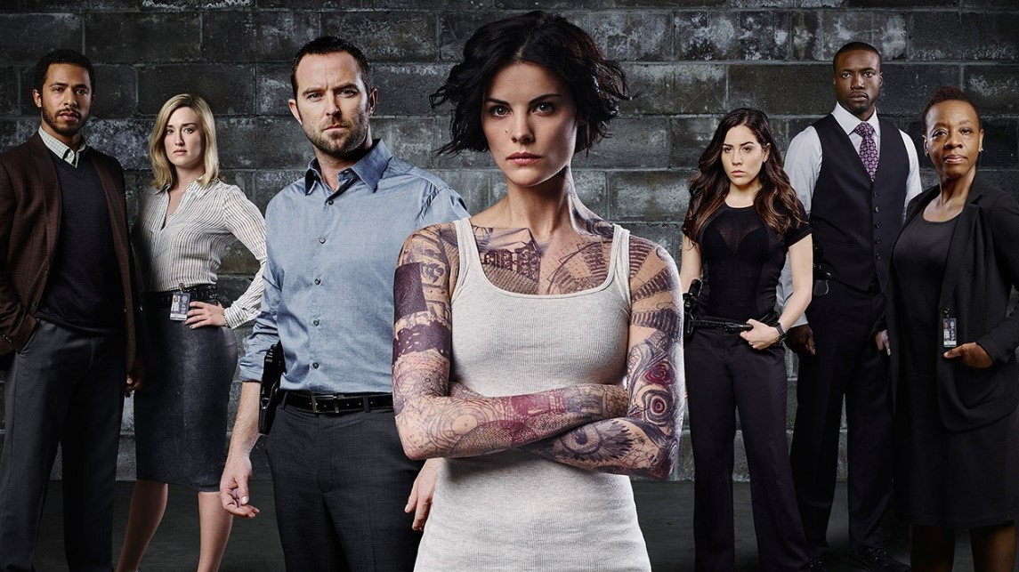 Blindspot Great Cast Poster
