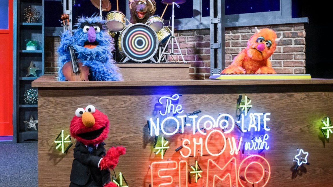 The Not Too Late Show With Elmo (2020)
