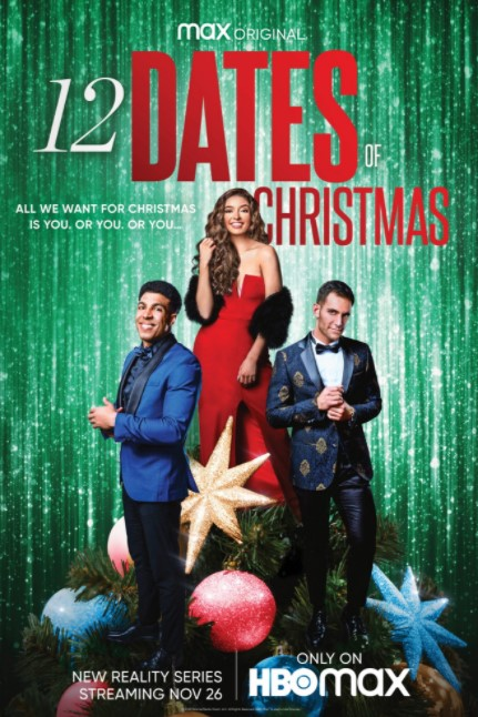 12 Dates of Christmas HBO MAX Poster