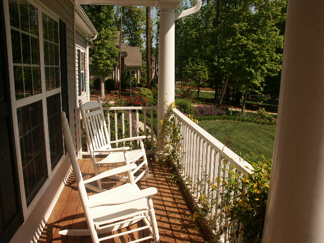 Lake Norman Real Estate Rocking Chair Front Porches