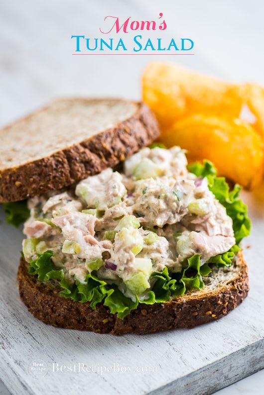 Best Tuna Salad Sandwich