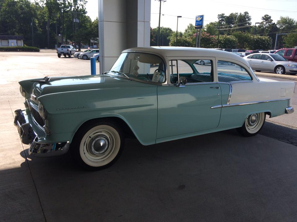 Luck Chevrolet in Ashland  Virginia  welcomes back a 1955 Chevrolet     Luck Chevrolet in Ashland  Virginia  welcomes back a 1955 Chevrolet 210
