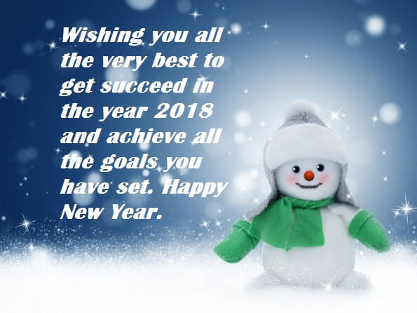 Happy New Year 2018 Greeting Cards Wishes   Best Wishes New Year 2018 Greeting Cards Wishes