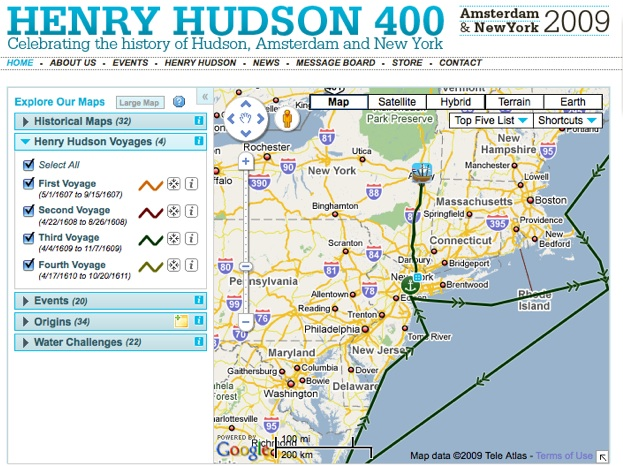 All Routes Hudson Henry S