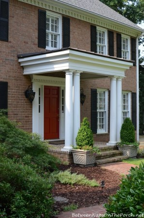 How Much Does It Cost To Build A Front Porch     Between Naps on the Porch How Much Cost To Build Small Front Porch wm