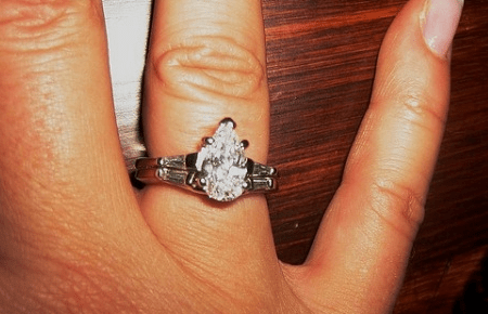 Pear Cut Diamond Engagement Rings  Latest Trends And Ideas  Pear Cut With Side Baguettes
