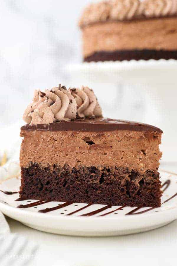 Chocolate Mousse Cake Beyond Frosting