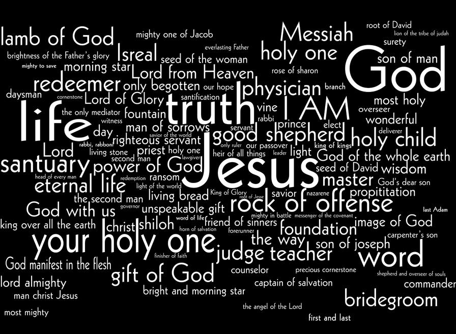 All the Names of Jesus - Bible Resources