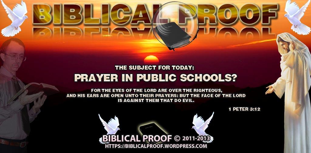 Prayer In Public Schools