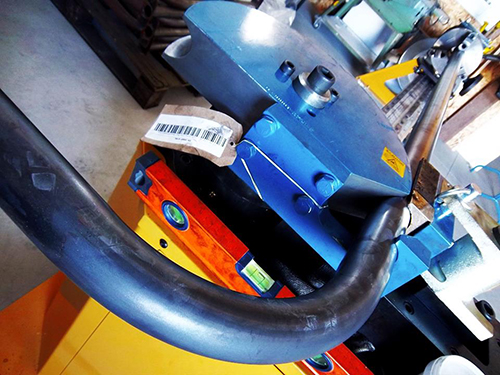 Tube bending Biciway Sheffield parking