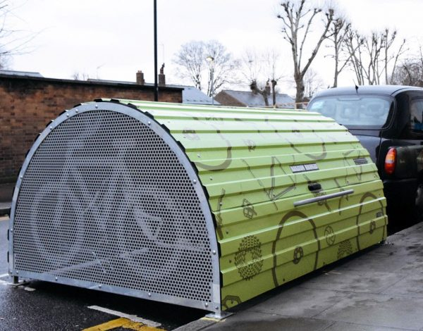 BikeHangar bike parking estacionamento bicicletas cyclehoop