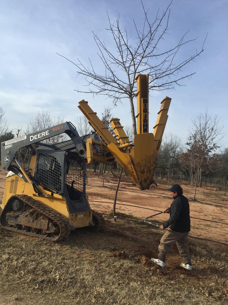 36 Inch Skidsteer Tree Spade Big John