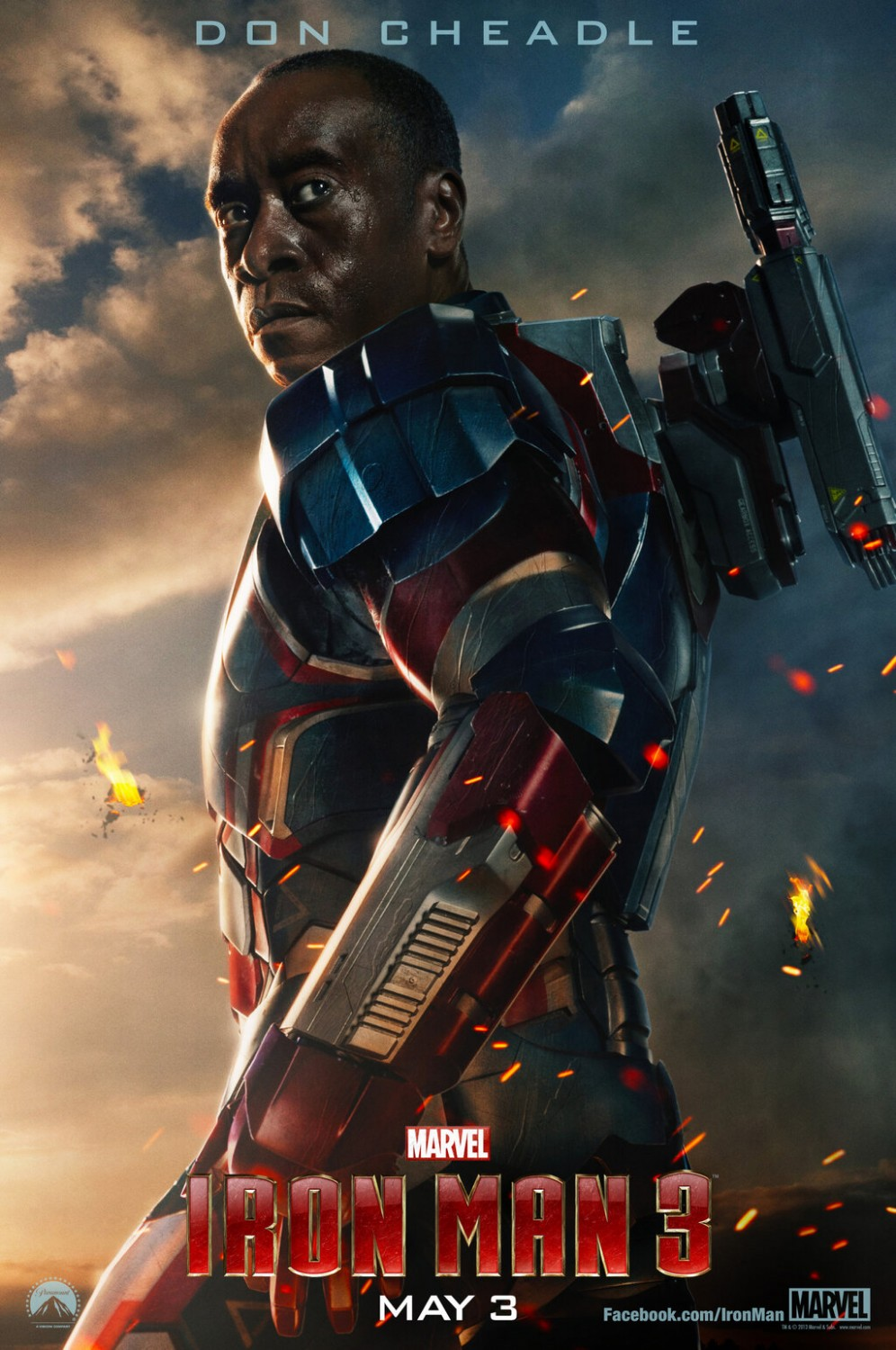 New IRON MAN 3 character posters pop-up online! (Updated ...