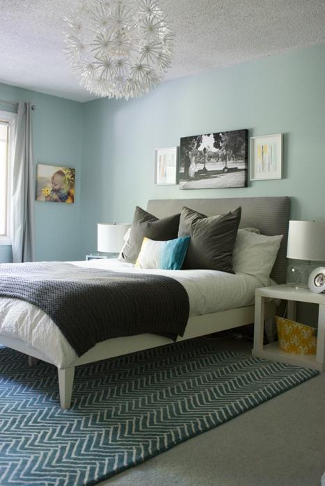 Master Bedroom Art Above Bed