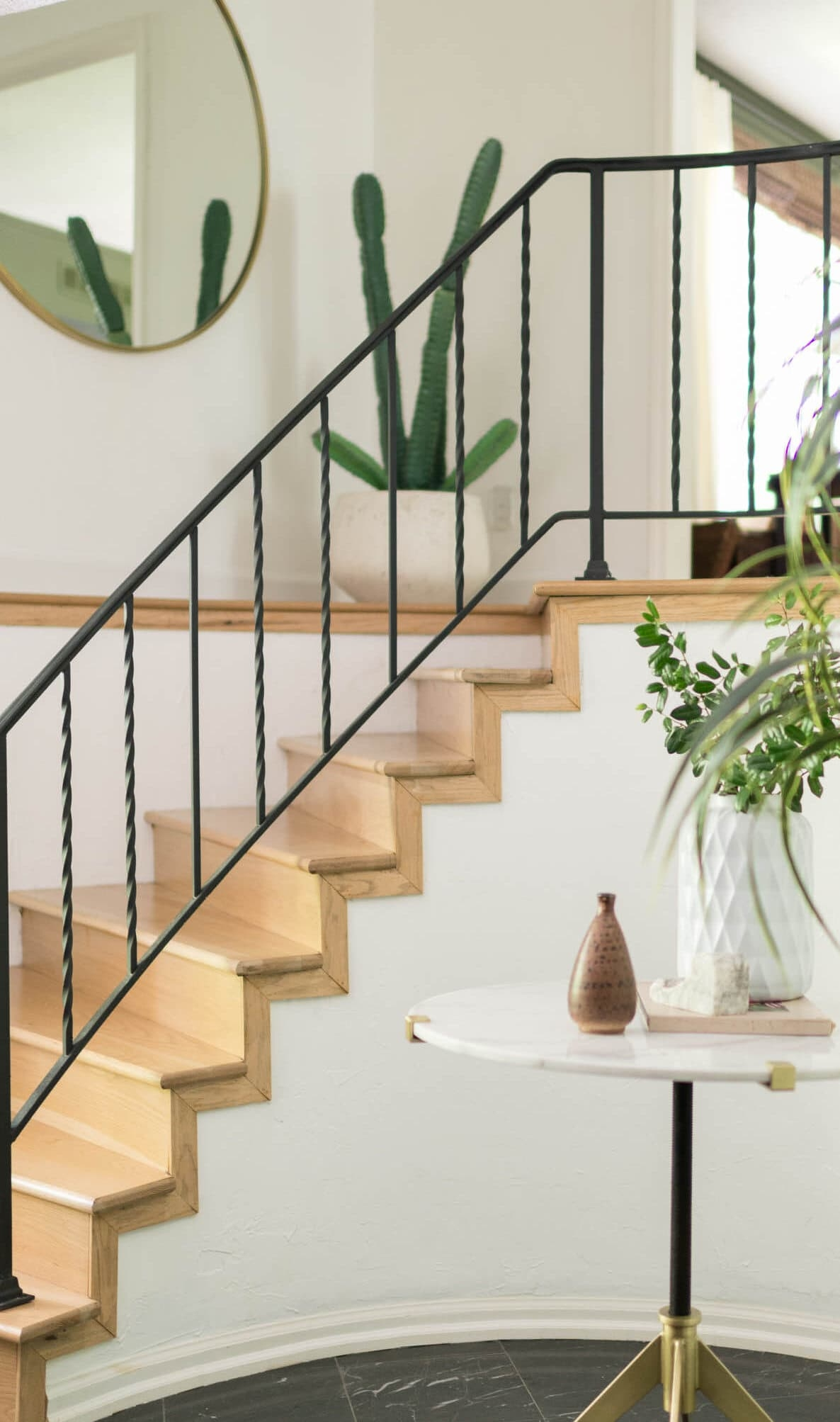 Stair Railing Idea Update Wrought Iron Handrails Bigger Than   Wrought Iron Stair Railings Interior Cost   Stair Parts   Iron Staircase Railings   Rod Iron Balusters   Wood   Stair Spindles
