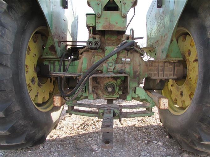 John Deere 4020 Tractor Push Blade
