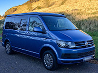 VW campervan hire scotland