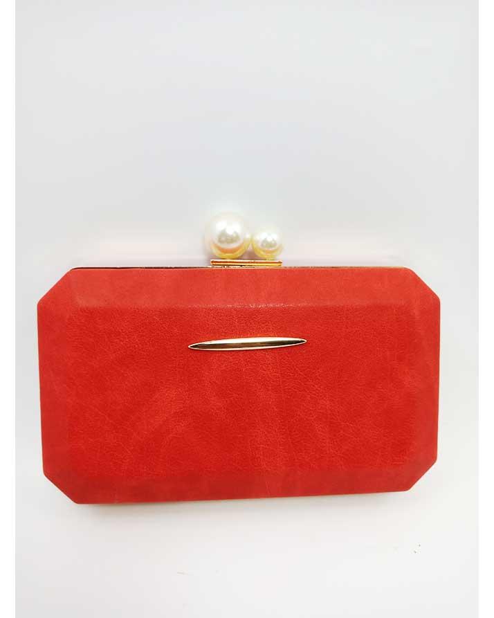 2 62 600x750 - Red Color Sleek Design Evening Clutch Bag for women b939c849a5e33