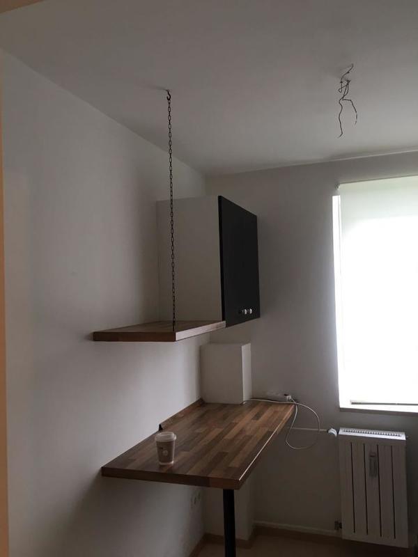 IKEA Faktum Küche mit Applad-Front in schwarz in Mainburg ...