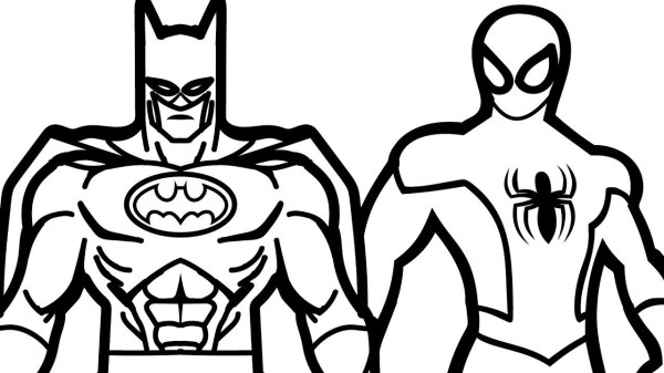 coloring pages of batman # 10