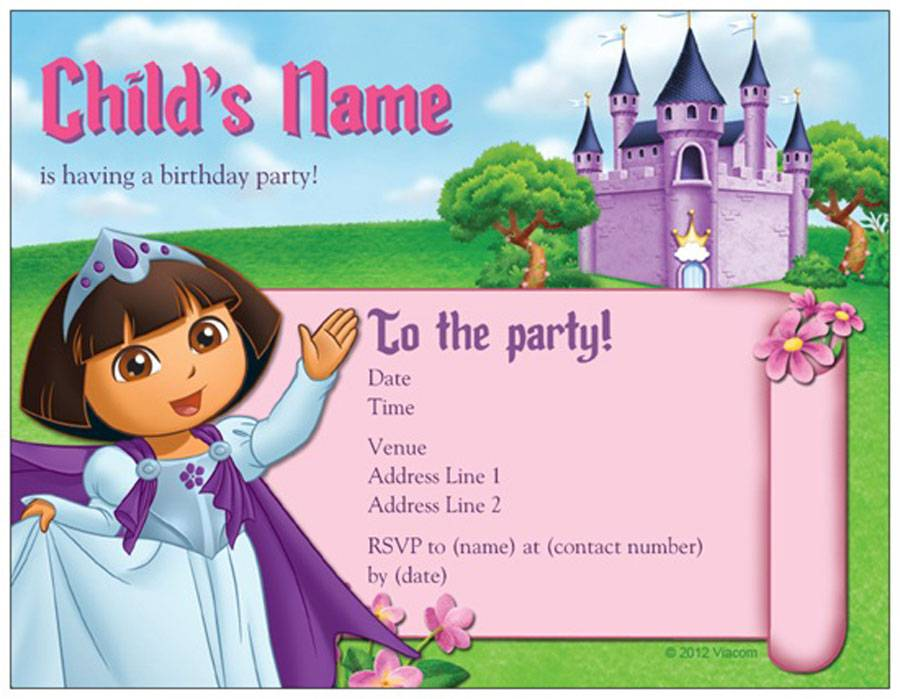 Cheap Party Invitation Cards