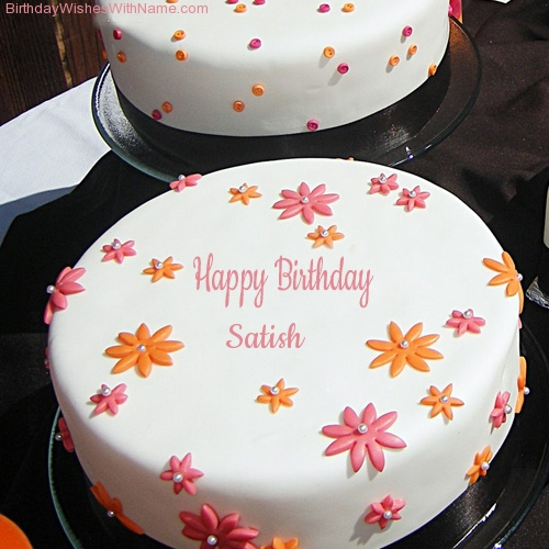 Happy Birthday Cake Name Edit Online