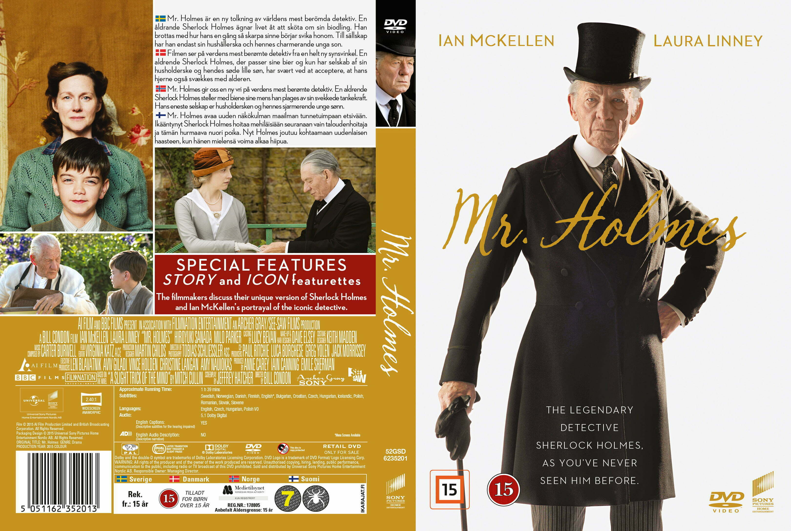 Mr holmes torrent indir