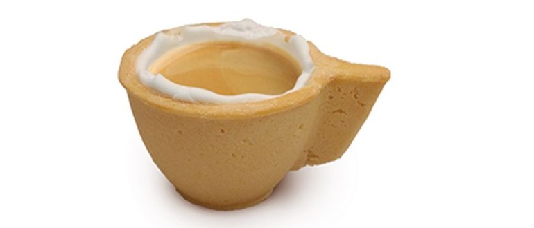 Coupe à biscuit comestible