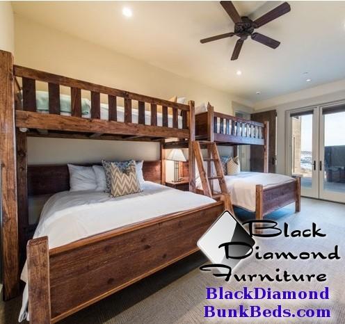 Promontory Quad Custom Bunk Bed
