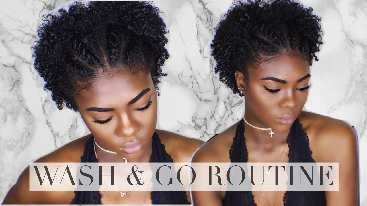 wash and go hairstyles for natural hair | hr.otelrehberii.com