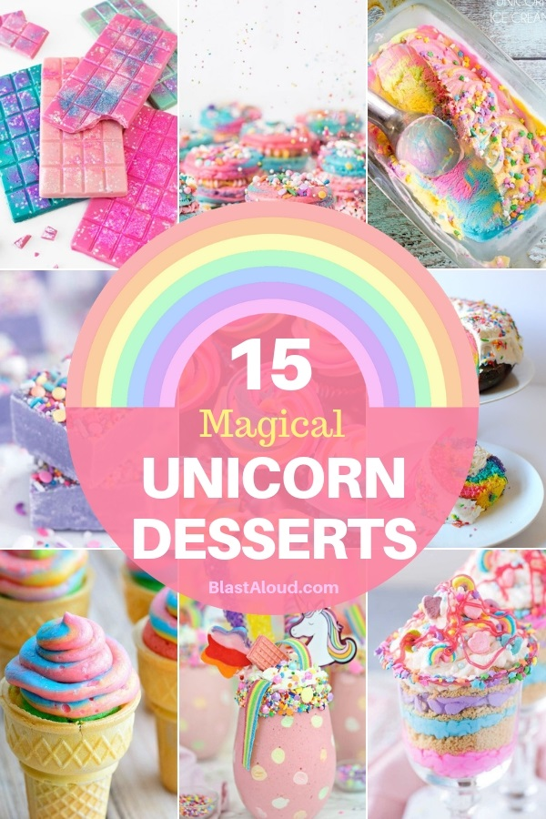 15 Cute Unicorn Desserts For A Magical Unicorn Party