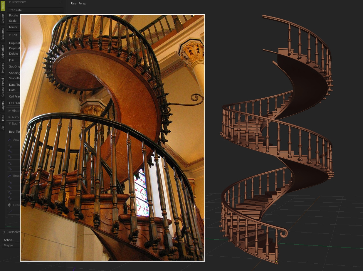 Loretto Chapel Spiral Staircase Works In Progress Blender | Spiral Staircase Loretto Chapel | St Joseph | Immaculate | Kentucky Sisters | Explained | Stairway