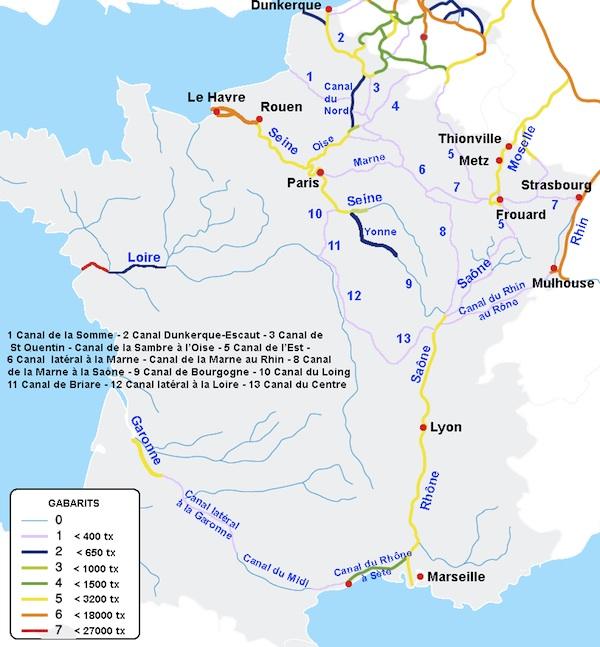 Cruceros Fluviales Francia Canales Navegables En Francia