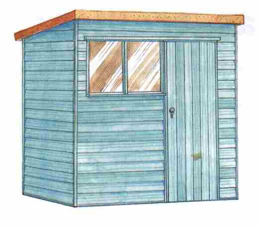 Building 10x10 Shed