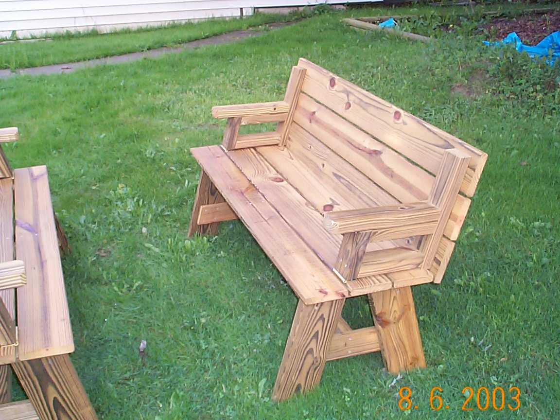 Folding Picnic Table Plans How To Build Diy Woodworking
