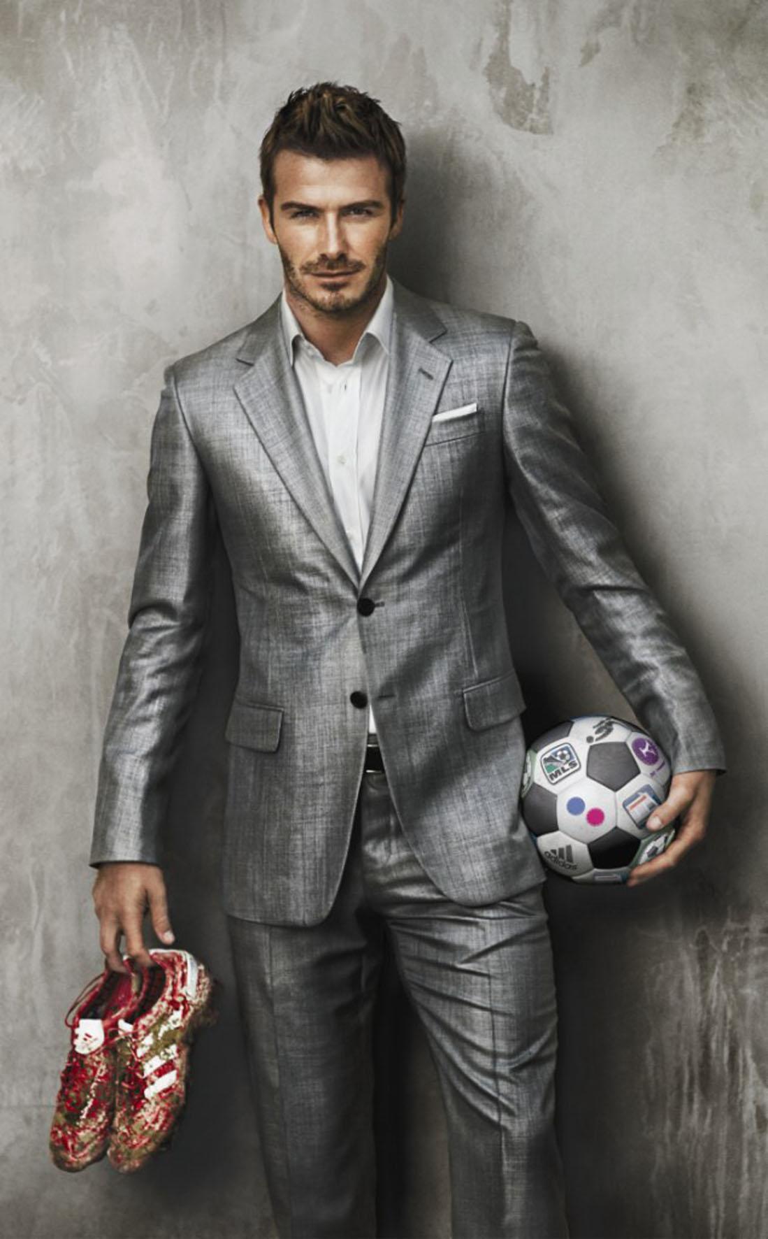 Does David Beckham have a moral obligation to get 'soaked ...