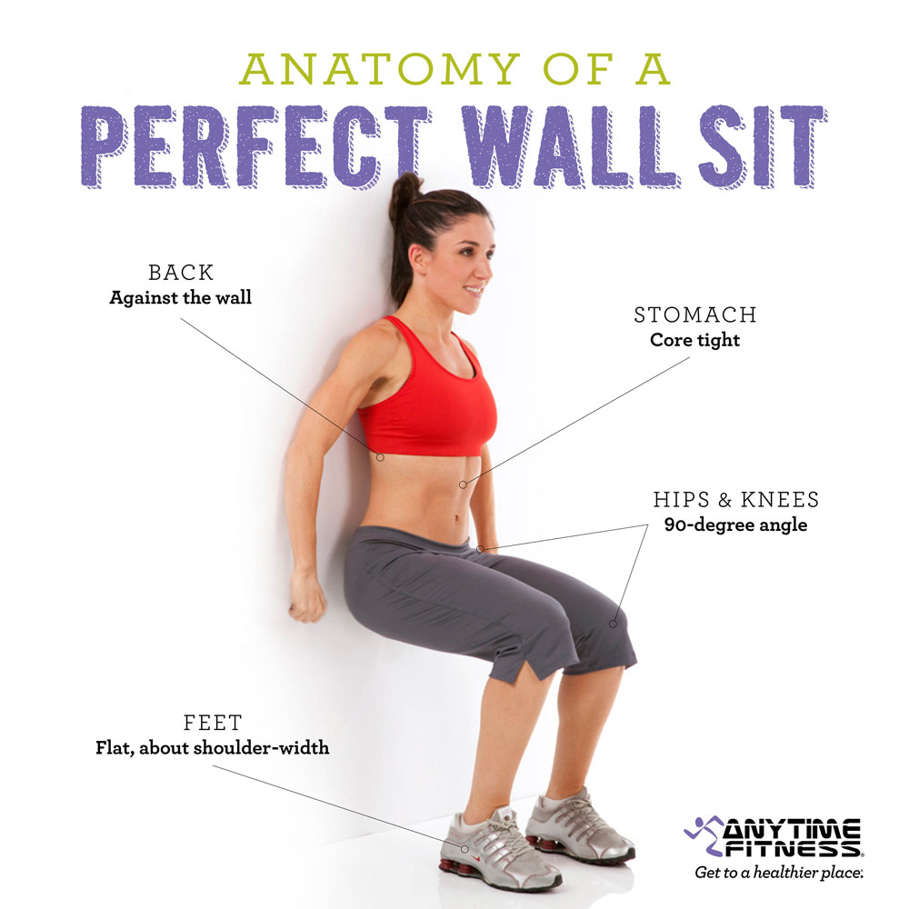 How to Do a Perfect Wall Sit & Boost It