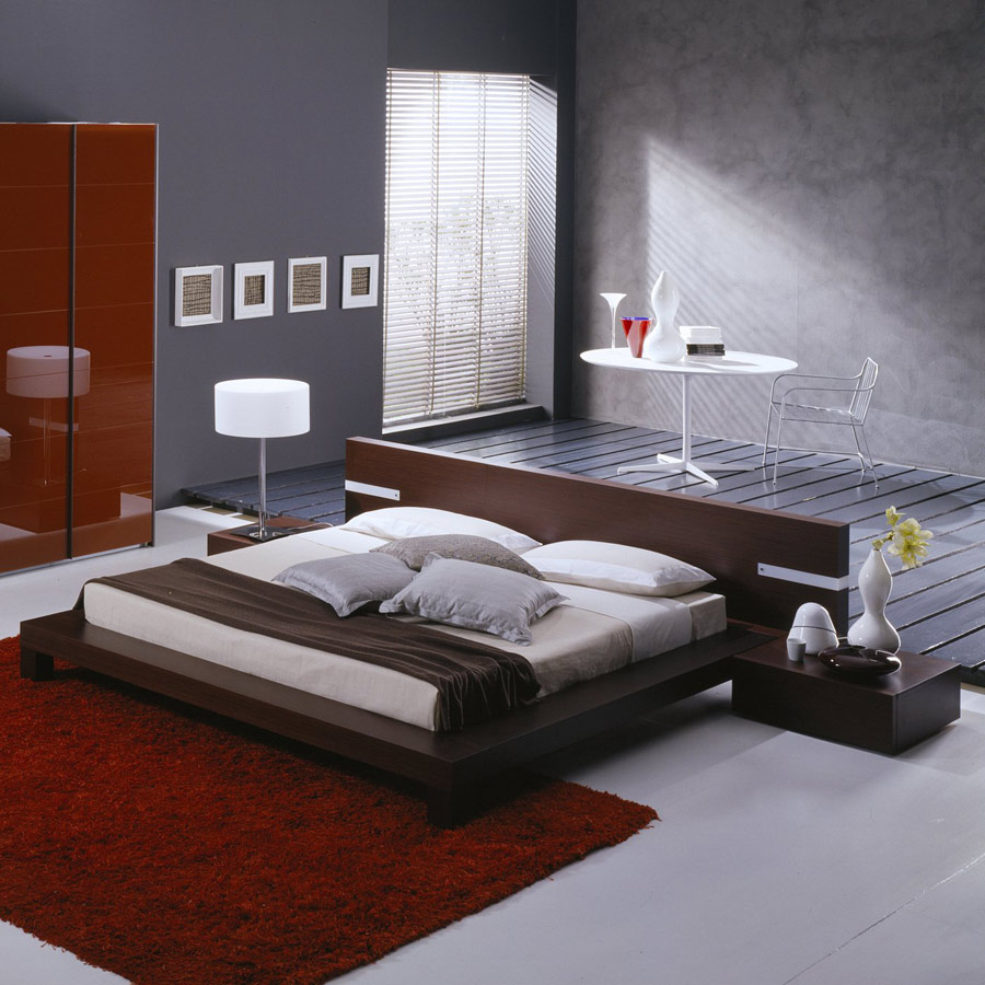 Contemporary Beds   Modern Furniture Blog WIN Contemporary Bedroom Rossetto