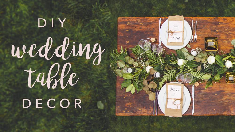 Easy Bridal Shower Decorations