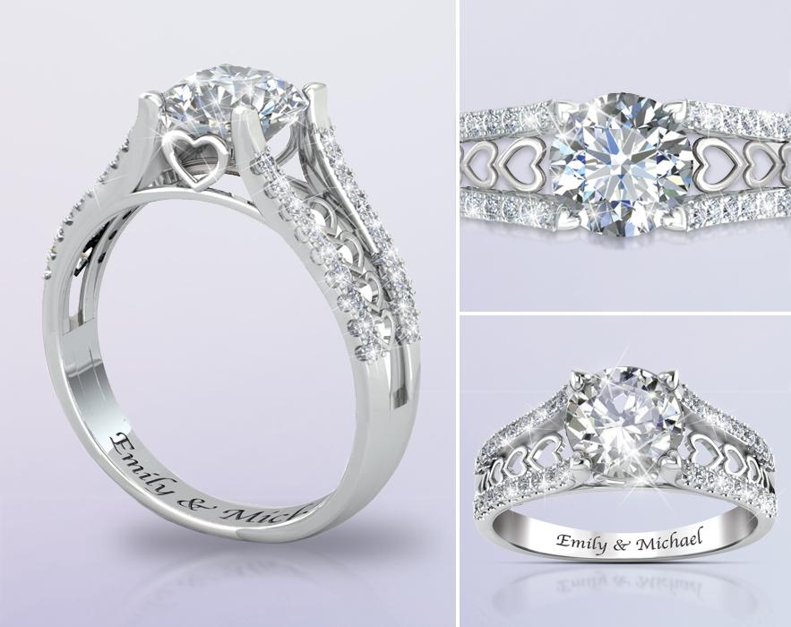 5 Wedding Rings to Steal the Spotlight - Bradford Exchange ...
