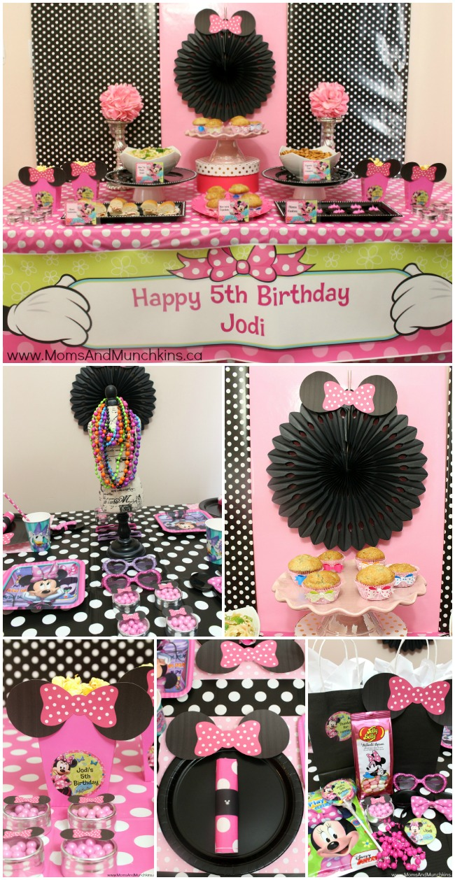 Minnie Mouse Birthday Party Chickabug