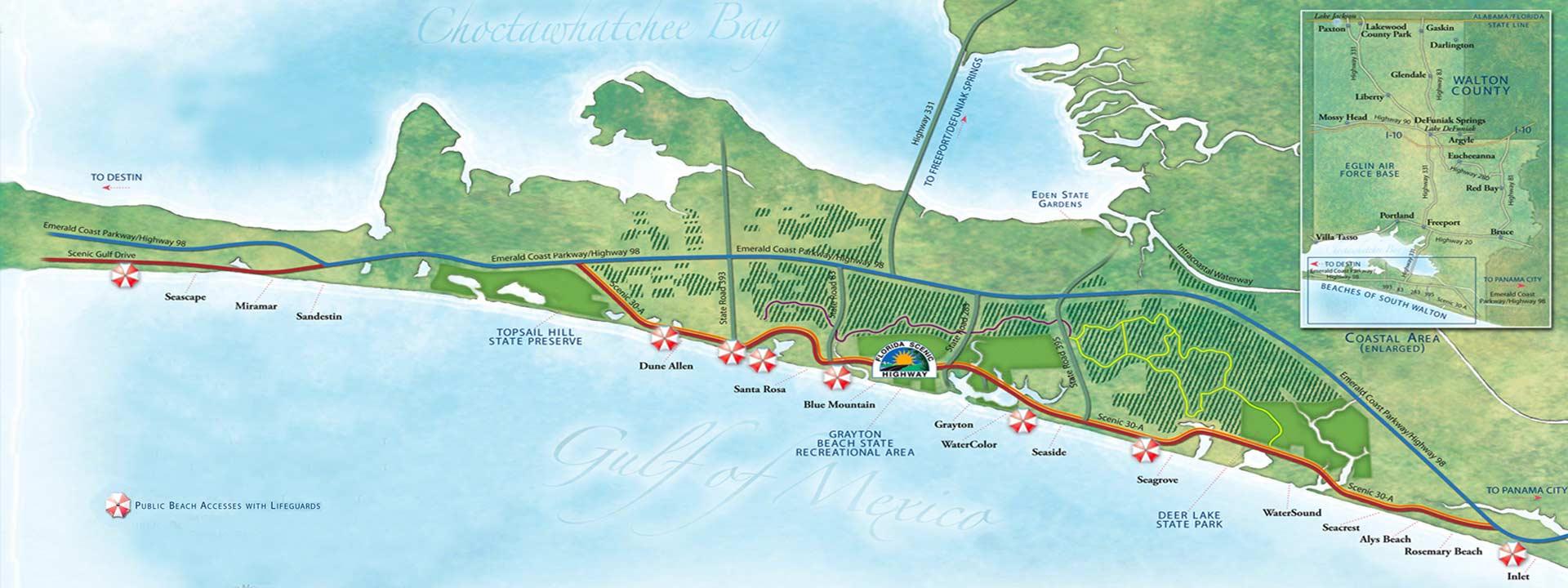 Map Head Plantation Hilton