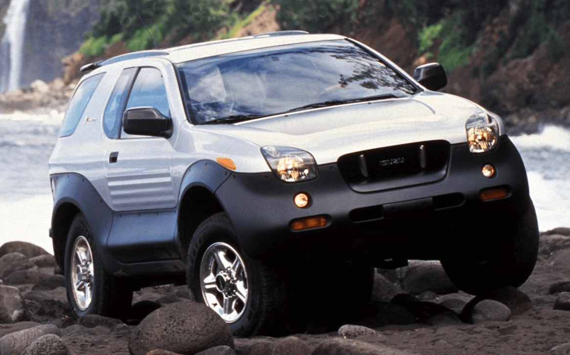 Review Flashback 2001 Isuzu Vehicross The Daily Drive