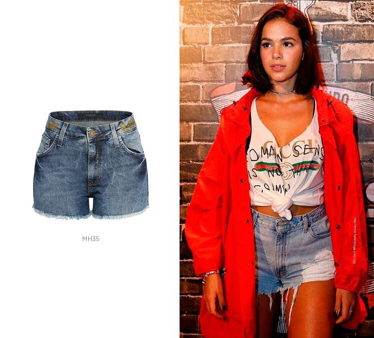 short jeans bruna marquezine