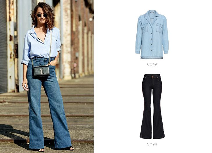 look total jeans damyller