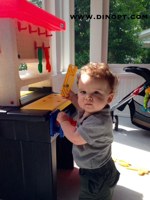 Hypotonia Dinosaur Physical Therapy